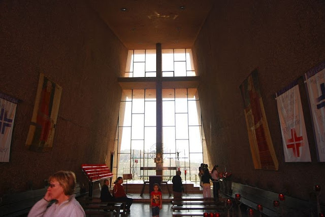 Spiritual Vigor The Chapel Of The Holy Cross In Sedona