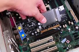Placa-mãe de um computador