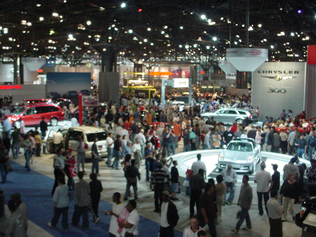 Fords Revolutionary Car Fords Driveomatic Will Appear In - Auto car show convention center