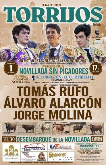 TORRIJOS (ESPAÑA) 01-10-2017.
