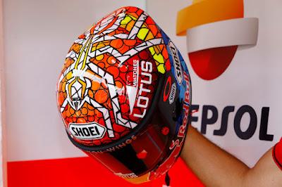 Logo Semut di Helm Marquez