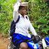 Nigeria Nollywood Actress Mercy Johnson Turns Okada Rider