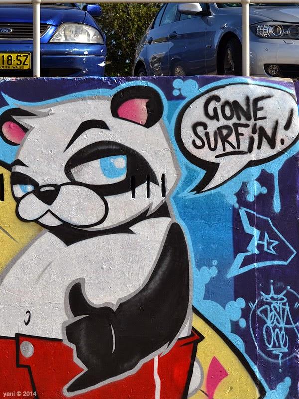 surfin panda