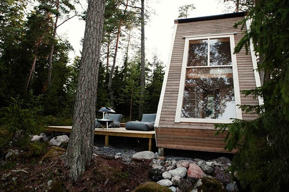 очень маленький дом