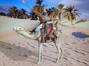 """ROMAN CAMEL RIDER"" 1/16"