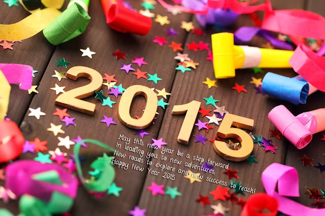 Happy 2015 New year Greetings and designs with lovable quotations ..