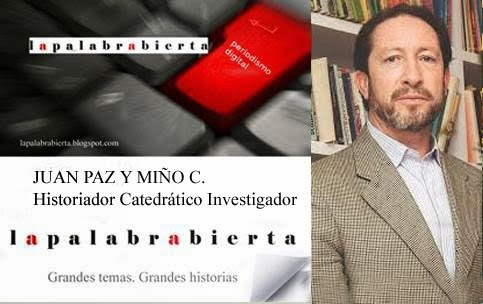 JUAN PAZ Y MIÑO HISTORIADOR CATEDRATICO