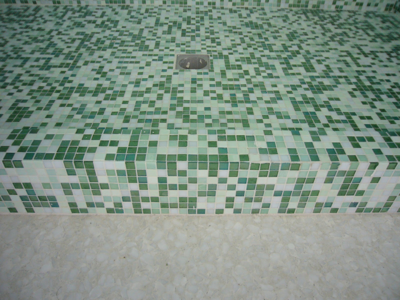 Bagno mosaico verde ~ fatua.net for .