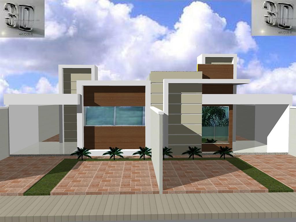 3danilo maquetes eletr nicas 3d 02 15 13 for Casas 3d