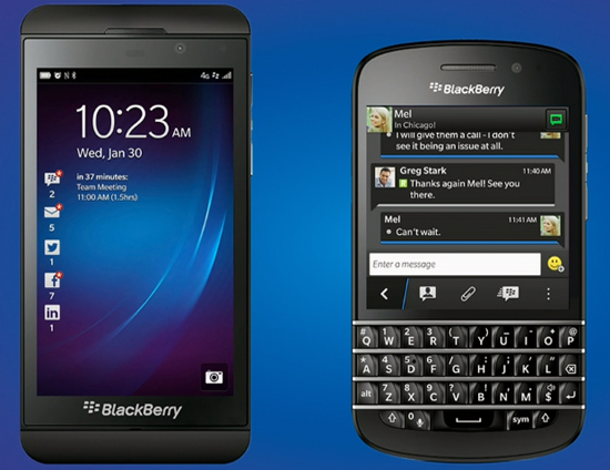 BlackBerry Z10 & BlackBerry Q10