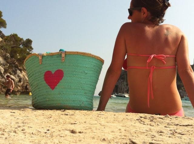 Capazo de playa Julietta Barcelona