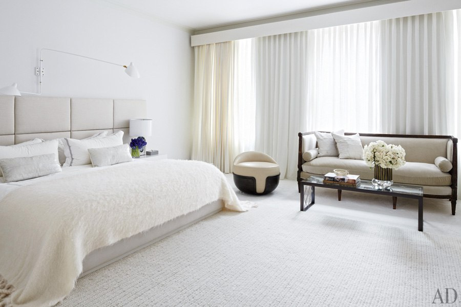 Townhouse Bedroom Interior Design : Townhouse Bedroom Interior Design : All White Bedroom