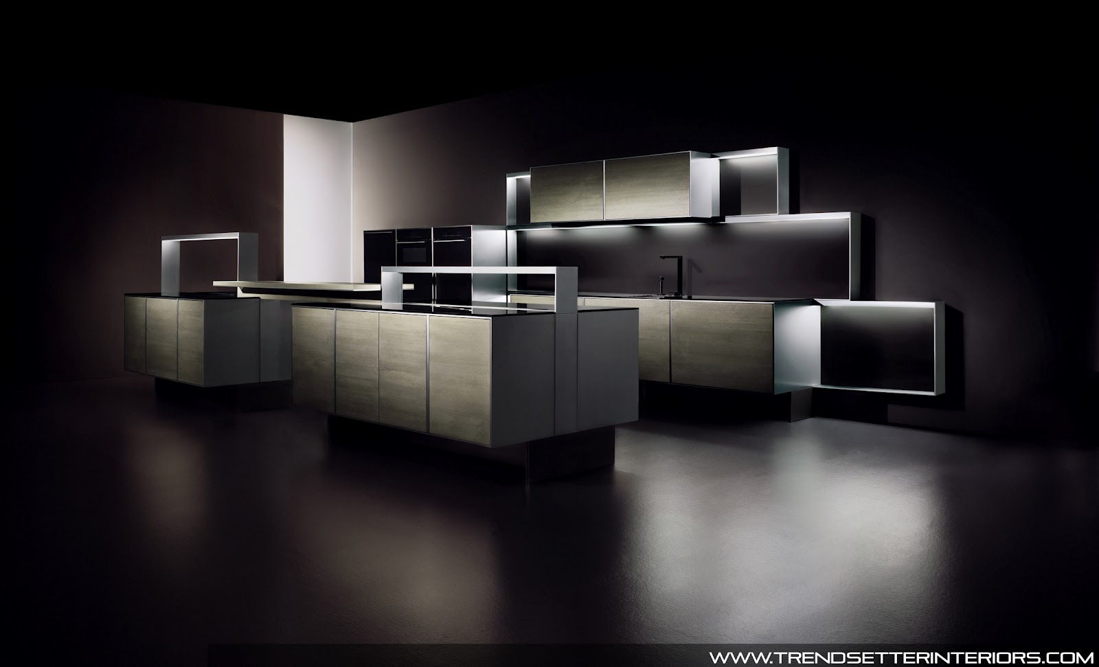 Charming Managers Of The Luxury Establishment Ordered A Black Porsche Design Kitchen  To Be Integrated Into The Hotelu0027s Most Expensive Suite.