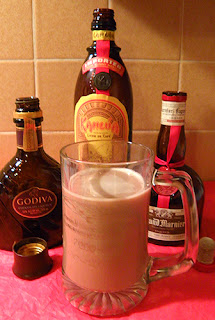 Cup of Hot Cocoa with Liqueurs