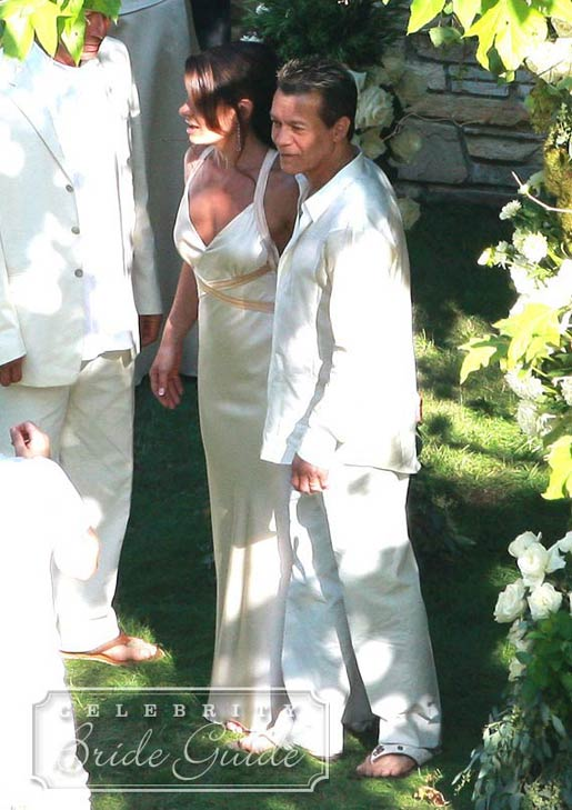 valerie bertinelli wedding wedding pictures