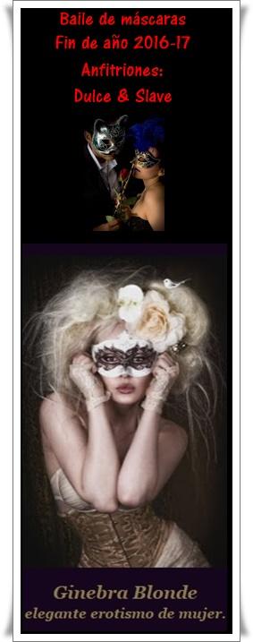 Preciosa y elegante invitación, de Dulce y Slave...♥