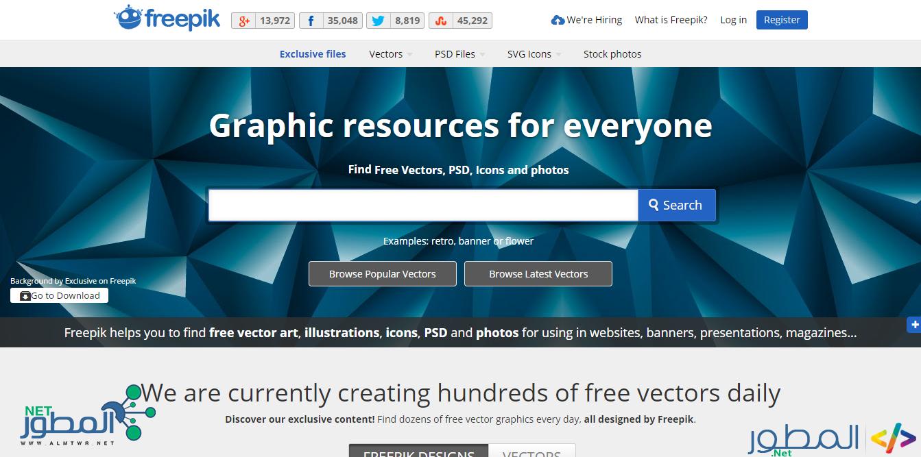 أفضل 10 مواقع لتحميل ملحقات الفوتوشوب مفتوحة المصدر psd