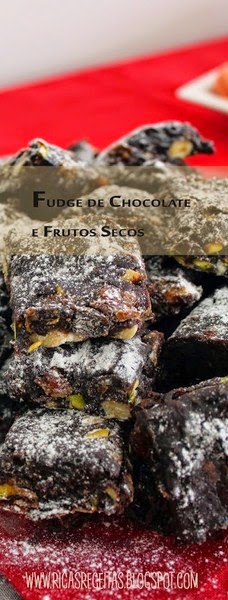 Fudge De Chocolate E Frutos Secos