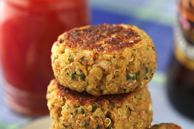 The Best Quinoa Patties