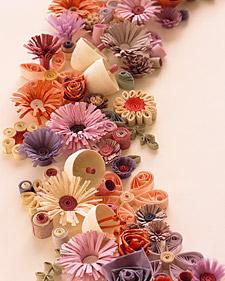 Idéias de Papel... Flores...