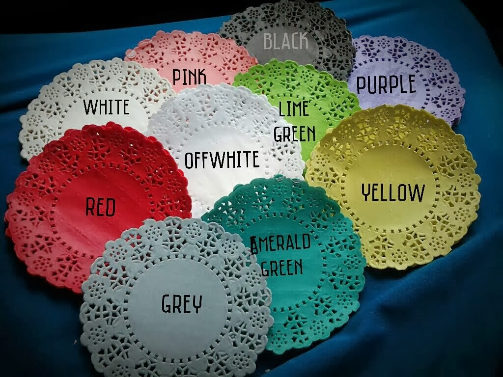 Colourful Doily Paper RM10/pack