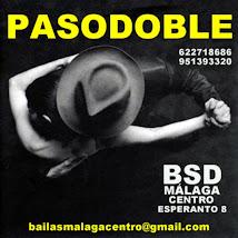 INTENSIVO DE PASODOBLE EN SEPTIEMBRE EN BSD BAILAS MÁLAGA CENTRO.