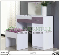 Meja rias minimalis modern desain Berrry