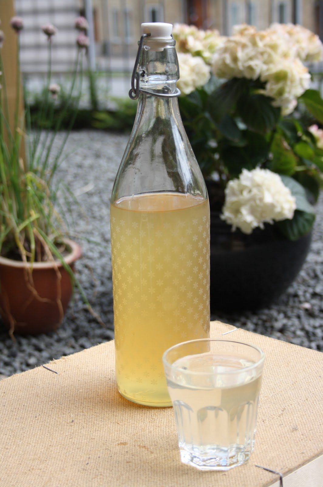 hyldeblomstsaft uden citronsyre