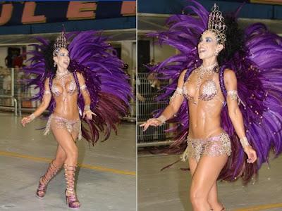 Fotos musas do Carnaval 2011 - São Paulo - 1° noite - Adriana Ferrari