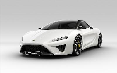 White Lotus Elise Concept HD Car Wallpaper