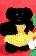 http://freevintagecrochet.com/free-doll-patterns/star90/goldie-locks-three-bears-dolls