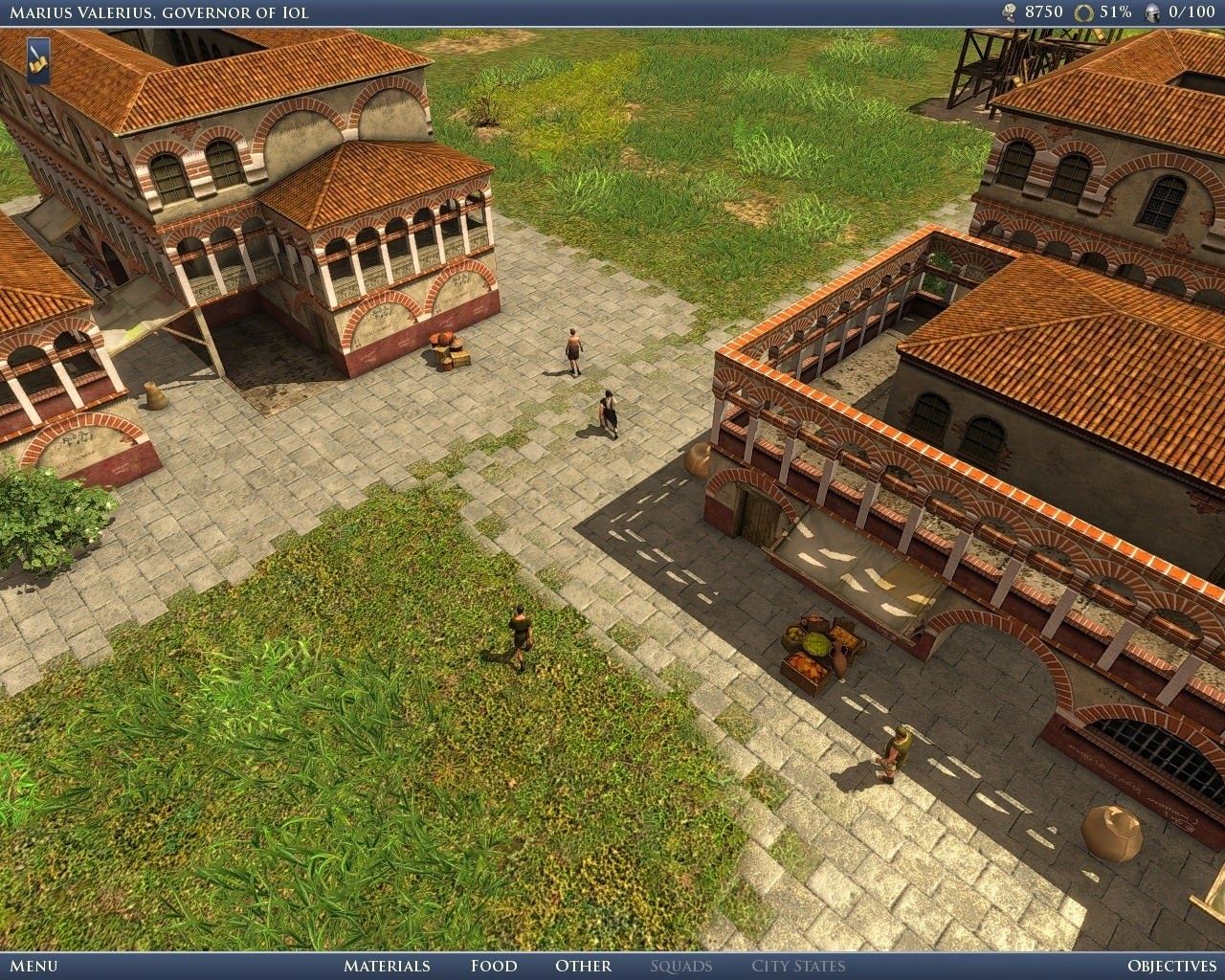GRAND AGES ROME GOLD EDITION SCREENSHOT
