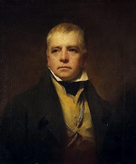 Sir Henry Raeburn painting - Sir Walter Scott