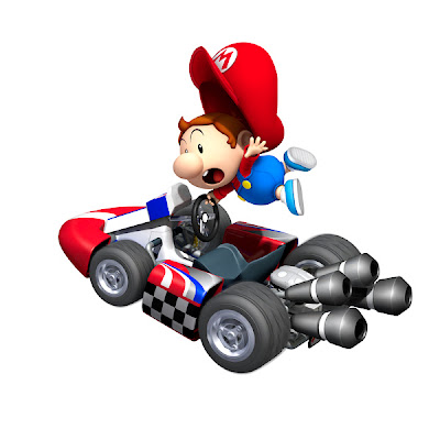 Desenho Super Mario Baby colorido