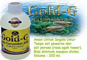 Khasiat Jelly Gamat Gold G