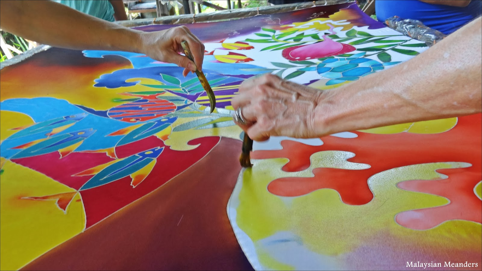 Malaysian Meanders: A Crash Course in Batik Painting
