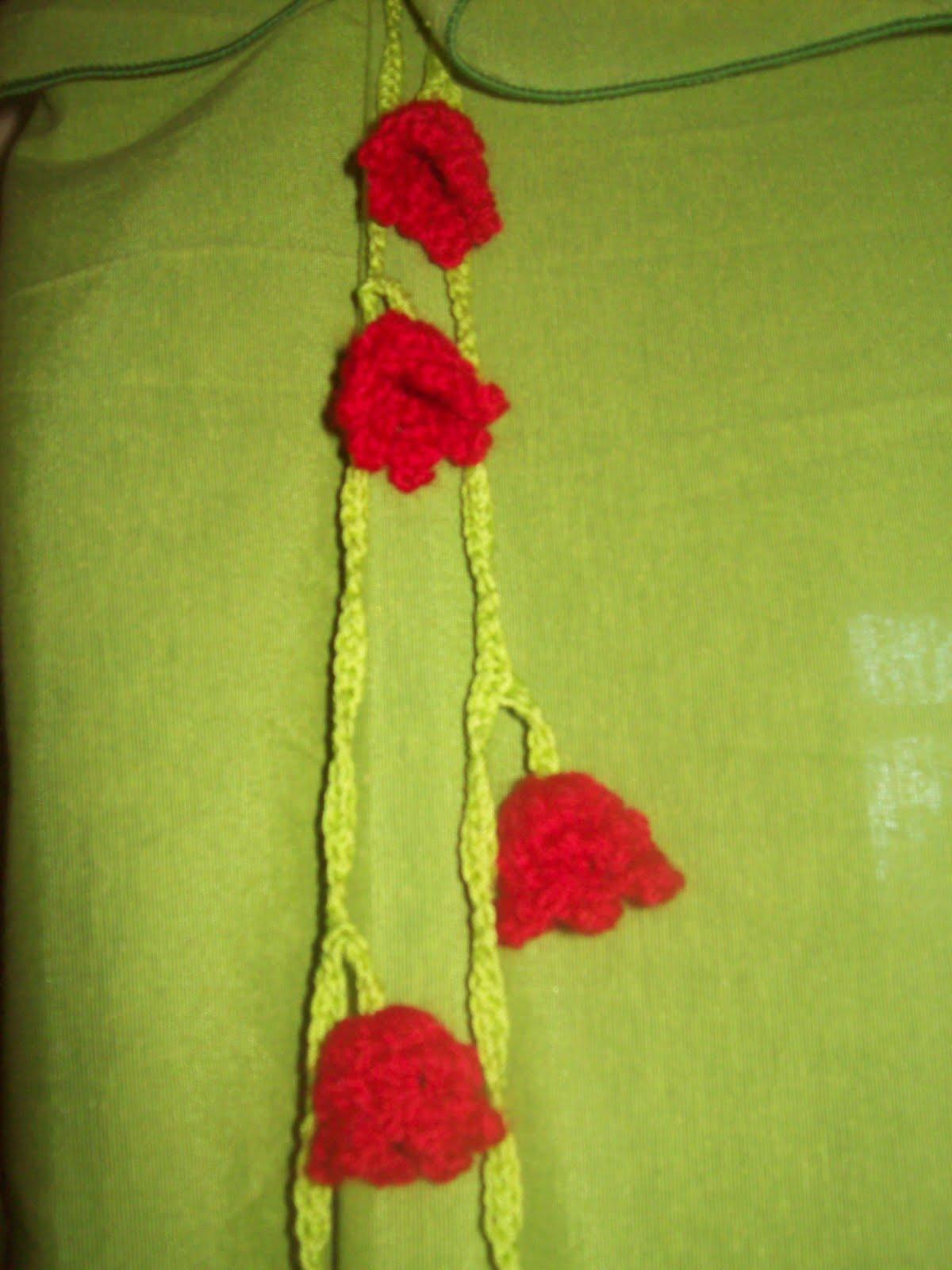 Todo en crochet adornos para tus cortinas - Adornos para cortinas ...