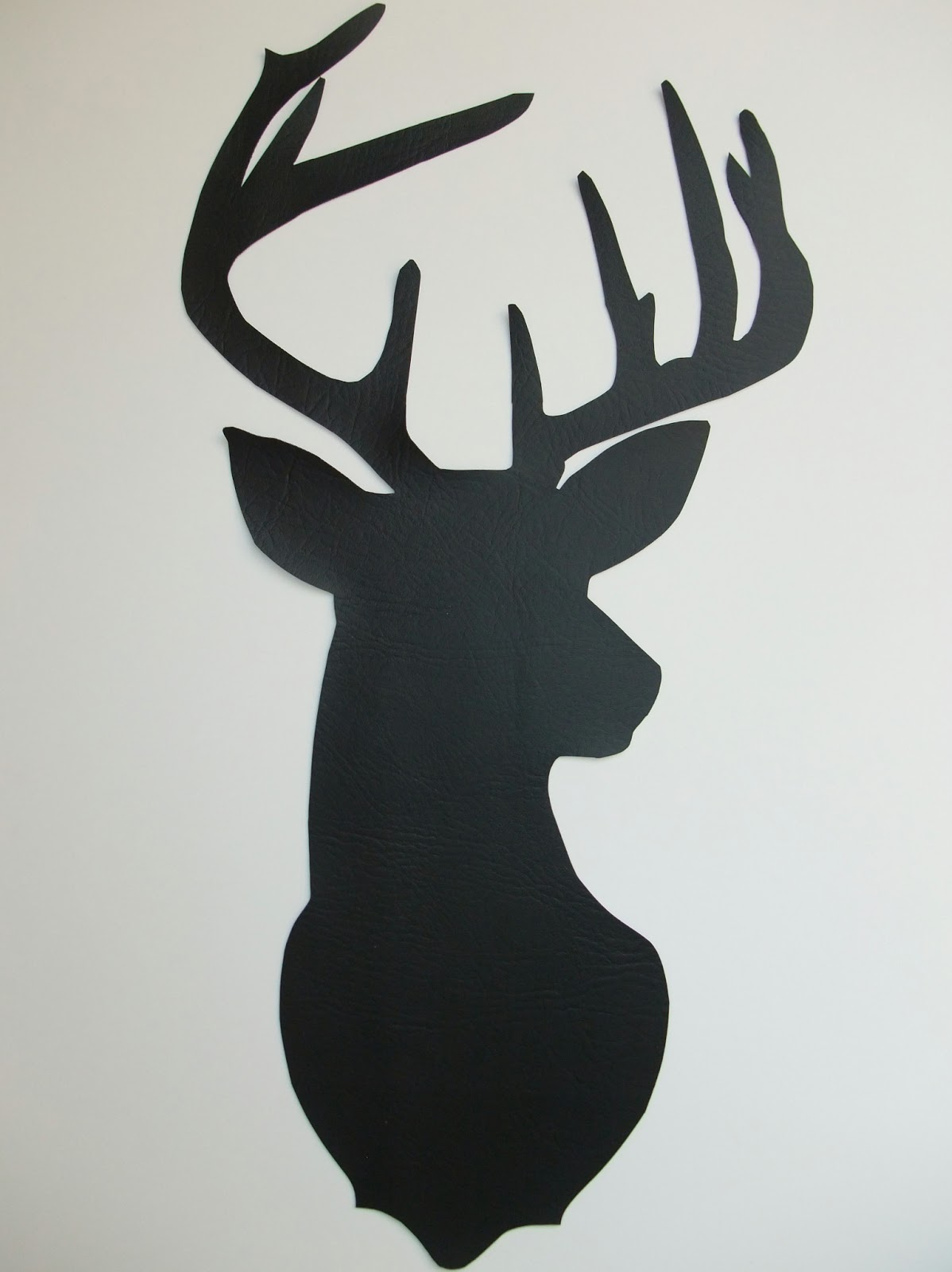 Nifty image in deer silhouette printable