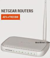 Netgear Wireless-N 150 Router WNR612 + Philips Headset SHS390