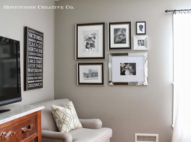 Gallery Wall Frames Silver