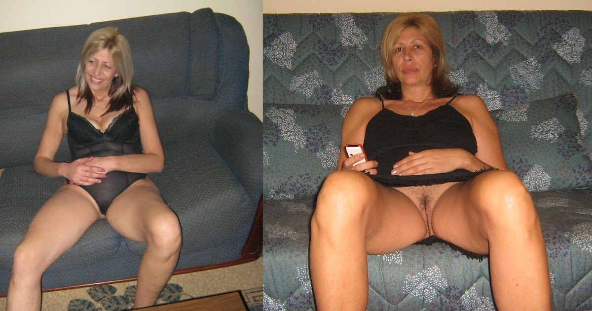 SEXY MILF SITE: Dressed Undressed Horny Blonde Milf No7