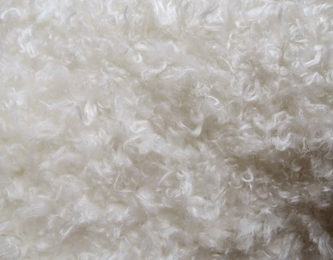 мех для пошива игрушки овечки