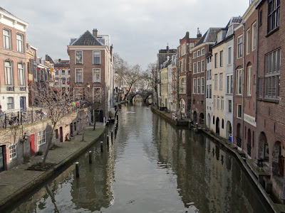 A beautiful canal in central Utrecht