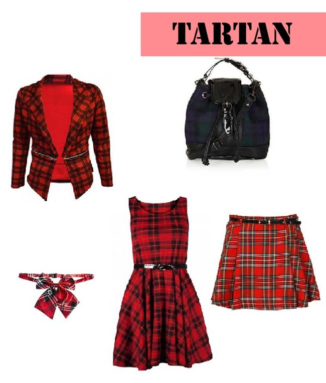 Tartan Wishlist, Tartan trend