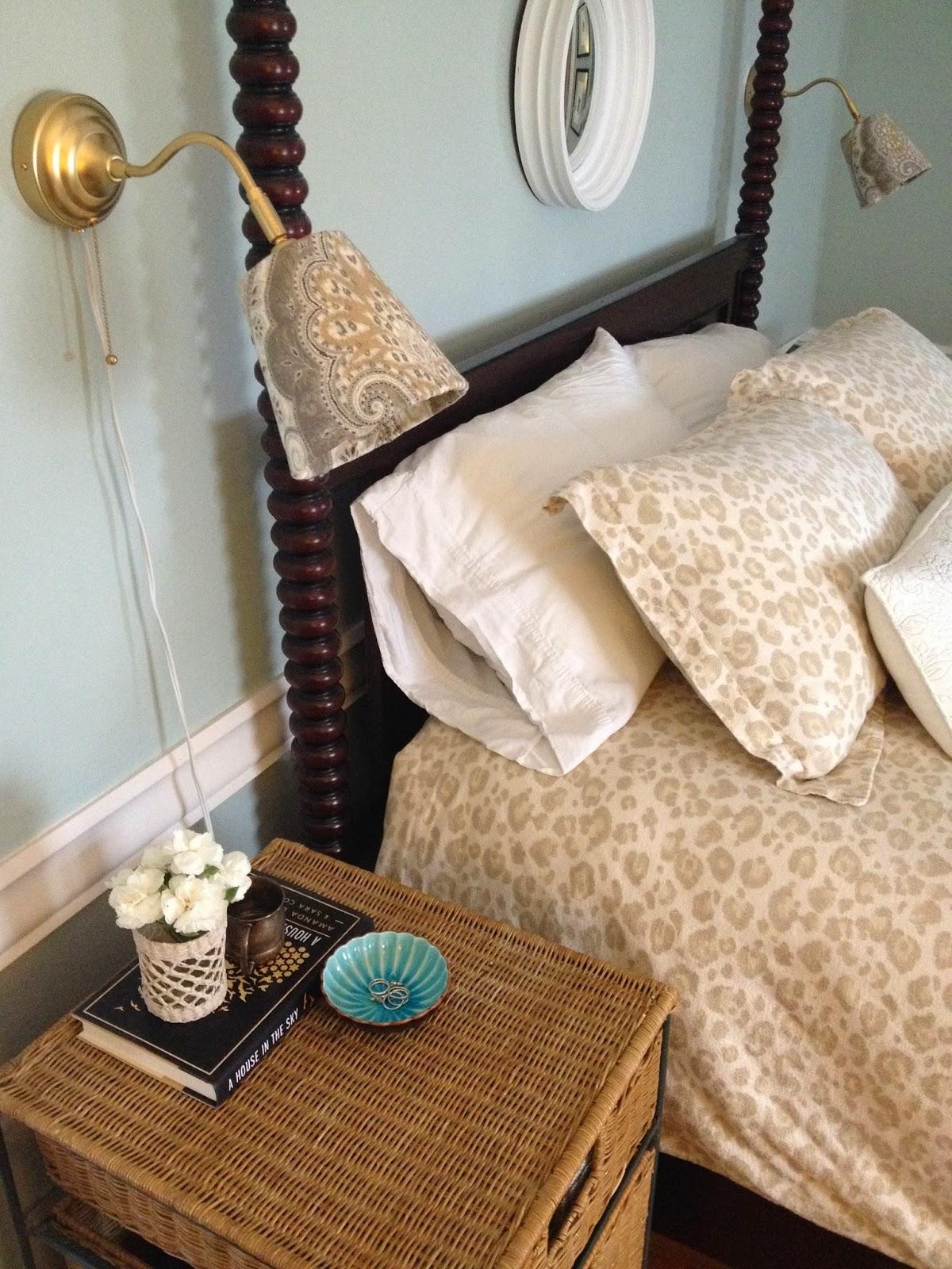 loft cottage our ikea wall lamp revamp. Black Bedroom Furniture Sets. Home Design Ideas