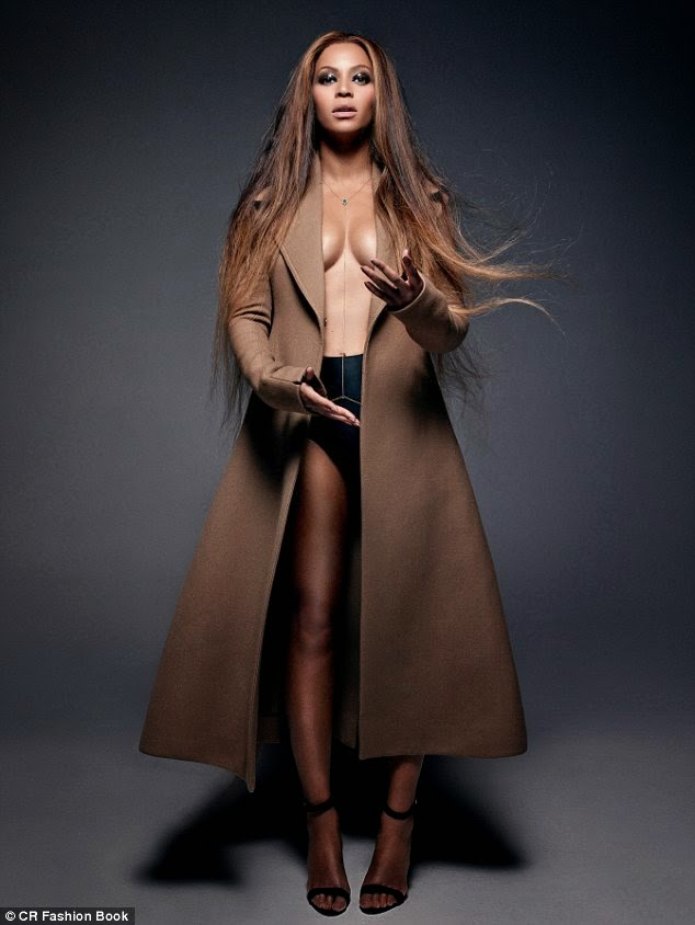Beyonce Goes TOPLESS & Writes Poem For Blue Ivy In CR Fashion Book Latest Edition! Get All The Full Details And Photo HERE!\