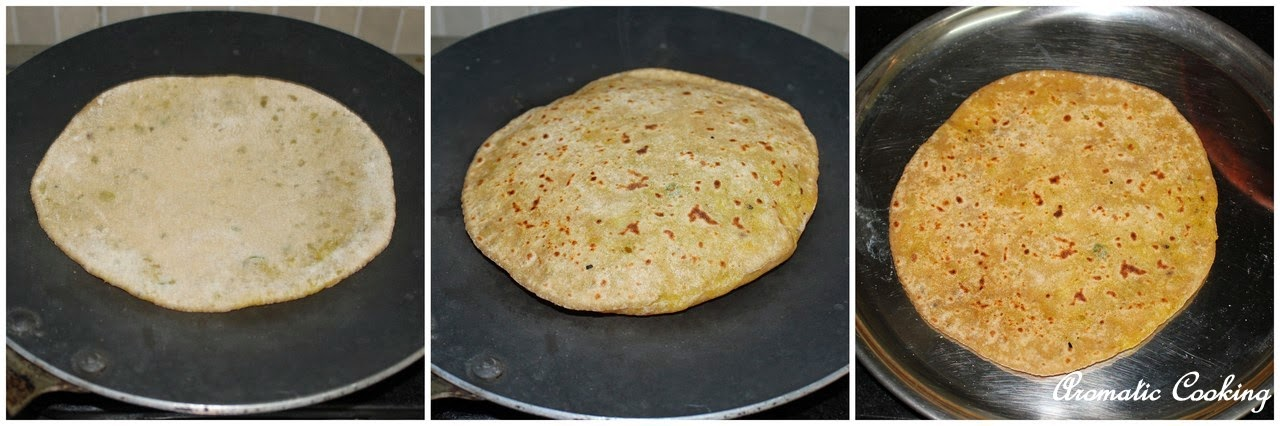 Aromatic Cooking: Aloo Parathas, Flat Breads With Potato ...