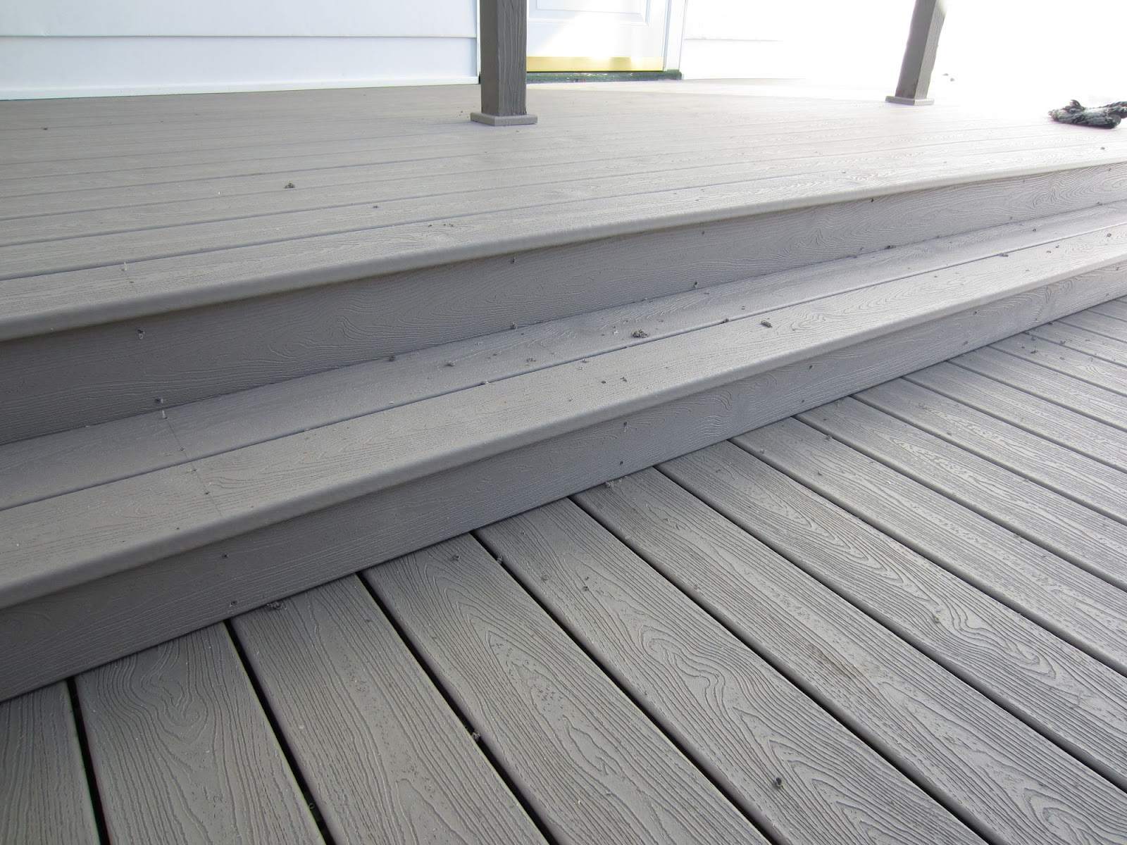 Composite deck on 5 mile hill bruggerhouse builders llc for Composite deck fasteners