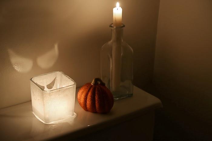 Spooky Eyes Candle DIY