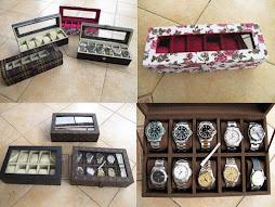 BOX JAM TANGAN ISI 6 DAN 10 JAM TANGAN